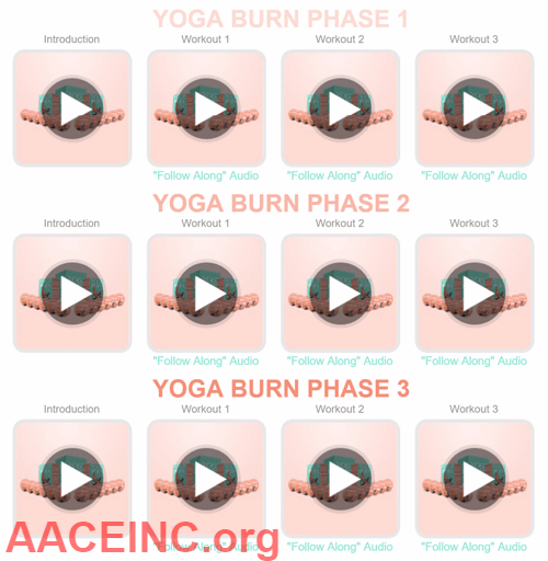 Yoga Burn 3 Phases