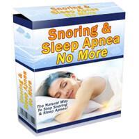 Snoring & Sleep Apnea No More PDF