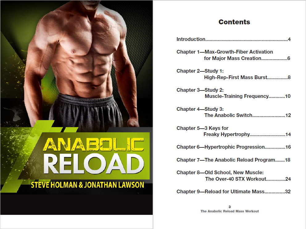 Anabolic Reload Content Page