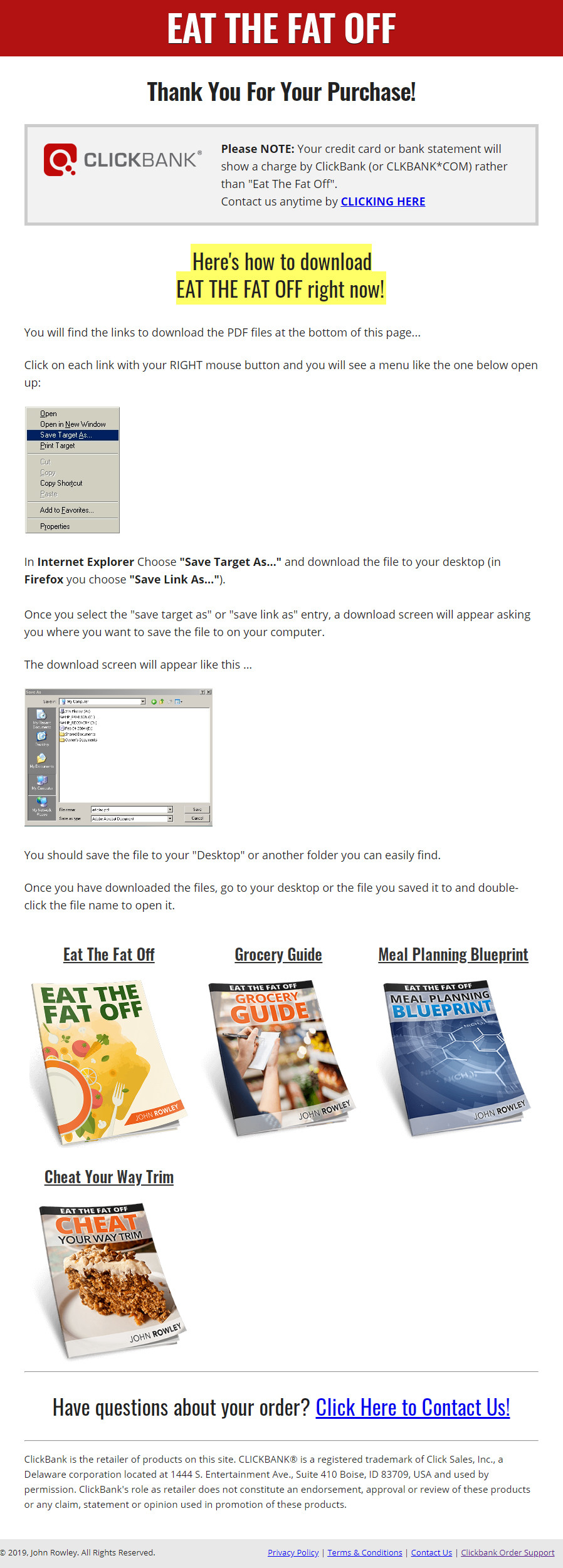 Eat The Fat Off Download Page
